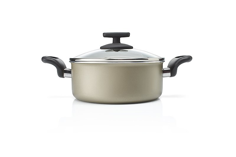 Casserole, with lid